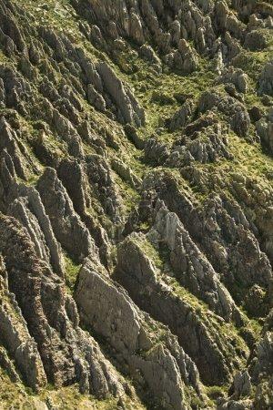 Photo pour Vue aérienne d'un paysage rocheux en Arizona, États-Unis . - image libre de droit
