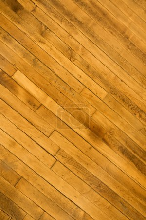 Foto de Primer plano del piso de madera dura. - Imagen libre de derechos