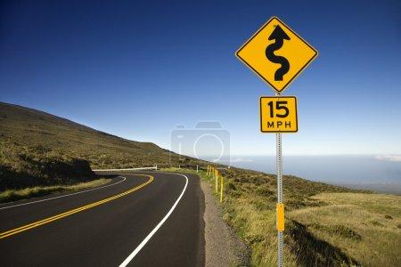 Road in Maui, Hawaii.