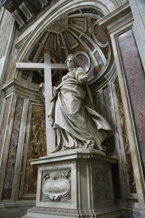 Saint Helena statue.