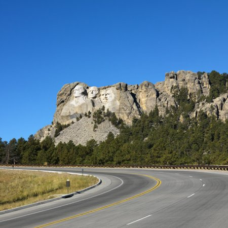 Mount Rushmore Memorial.