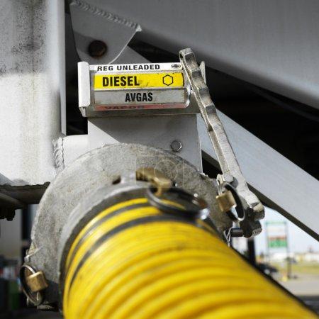 Fuel hose.