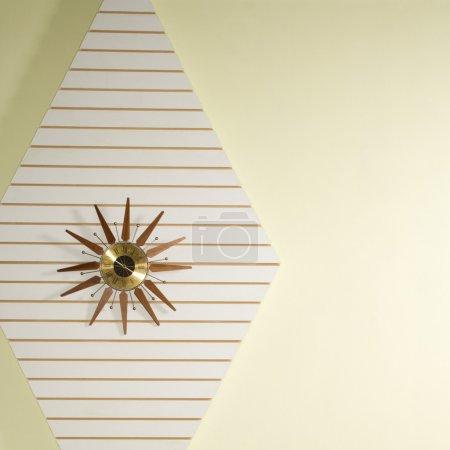 Retro wall clock.