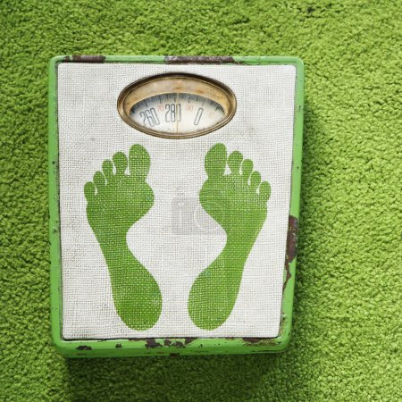 Vintage weight scale.