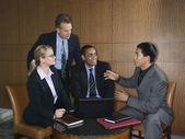 Üzletember találkozó