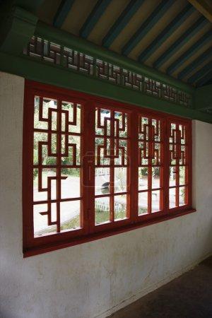 Interior of pagoda.