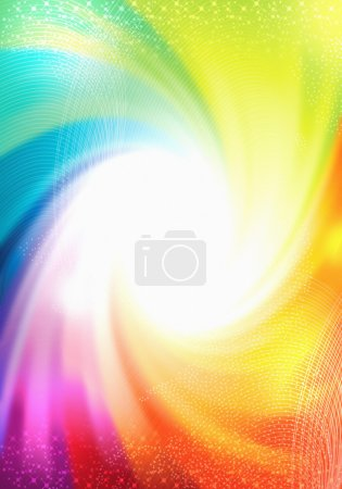 Photo for Photo design of a twist colourful background - Royalty Free Image
