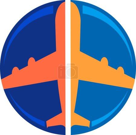 logo de l'avion