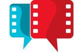 Film speech logo