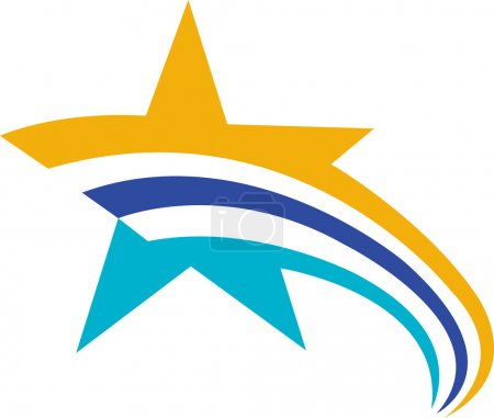 Flying star logo