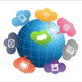 Communication Globe