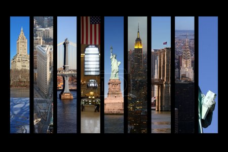 Photo for New York City Collage - Royalty Free Image