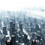 Metropolis 3D render...