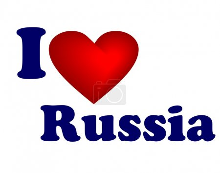 I love Russia icon...