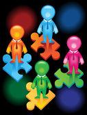 Teamwork- -puzzles