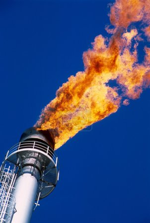 . Gas flare