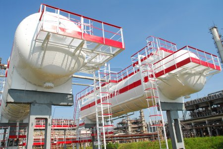 Russia. The processing unit on NORSI Refining Factory