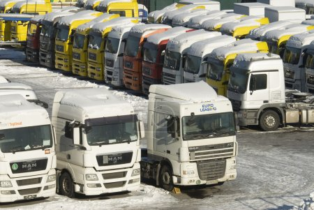 Sale of new and used heavy trucks in Moscow