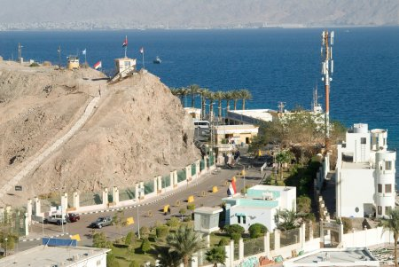 Egyptian-Israeli border on Sinai