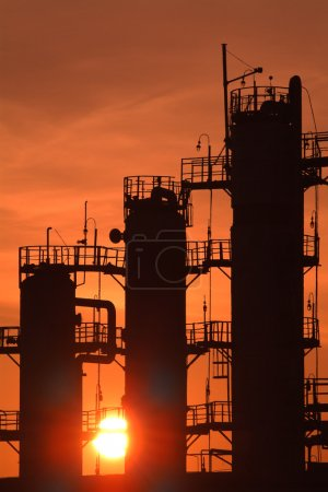 Russian oil & gas indystry. The Rijazan Refining Factory