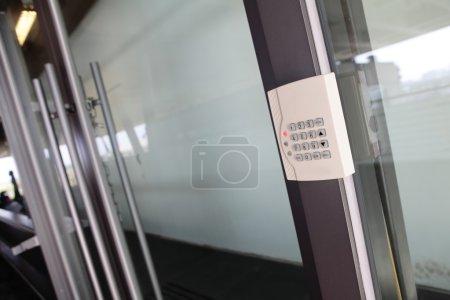 Modern Door with safety door combination