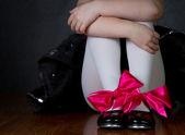 Taneční boty na dívky nožky