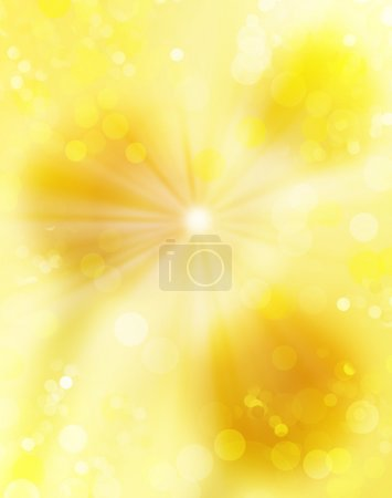 Gold blinking background. Holiday abstract light texture