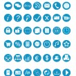 Set of icons for the Web...