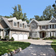 Luxury new construction home with three car garage...