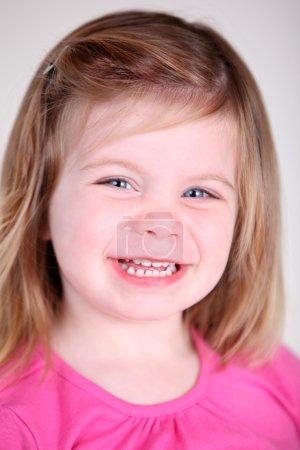 Sweet Toddler girl portrait
