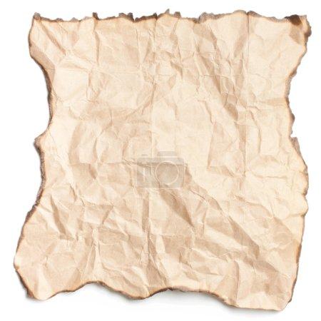 Photo pour Un morceau de vieux papier - image libre de droit