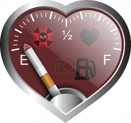 Heart smoke