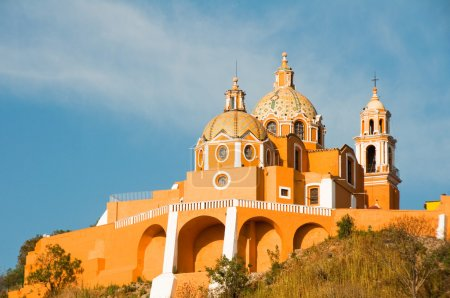 """""""Santuario de los remedios"""", Cholula, Puebla (Mexico)"""