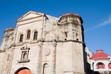 Photo pour Église des Jésuites Immaculée conception, oaxaca (Mexique) - image libre de droit