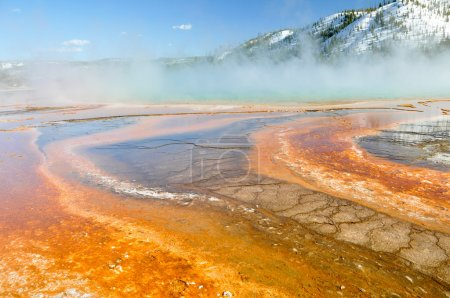 Grand Prismatic Spring, Yellowstone National Park (USA)