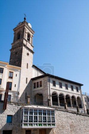 San Vicente church in Vitoria (Spain)