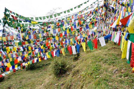 Photo for Temple in Dharamsala, McLeod Ganj (India) - Royalty Free Image