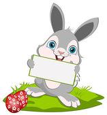 Easter Bunny width a card