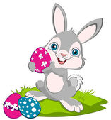 Easter Bunny and tree eggs