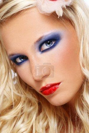 Glamorous beauty