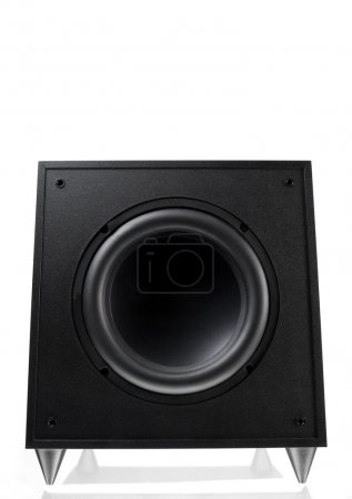Single Speaker over white background