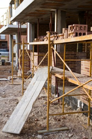 Photo for Construction crisis, spain - Royalty Free Image