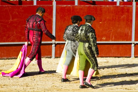 Group bullfighters costumes