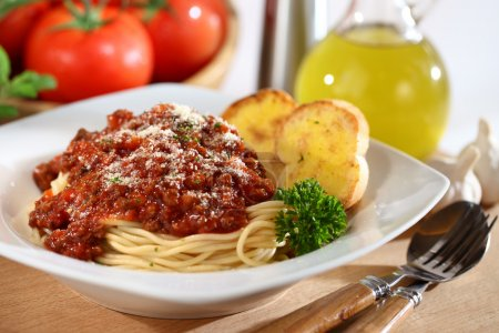 Photo for Fresh plate of Spaghetti - Royalty Free Image