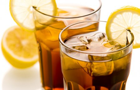 Photo for Cocktail Long Island Ice tea close up - Royalty Free Image