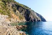 Постер Скалы и Средиземное море