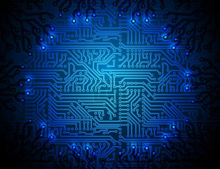 Vector circuit board background. eps10