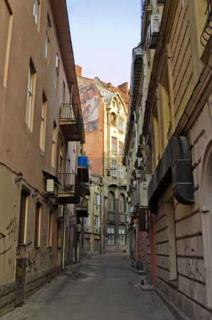 Small streets of Lvov