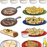 Постер, плакат: Mexican Food Clipart