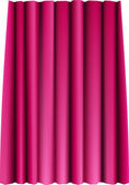 Red vector theater big curtain
